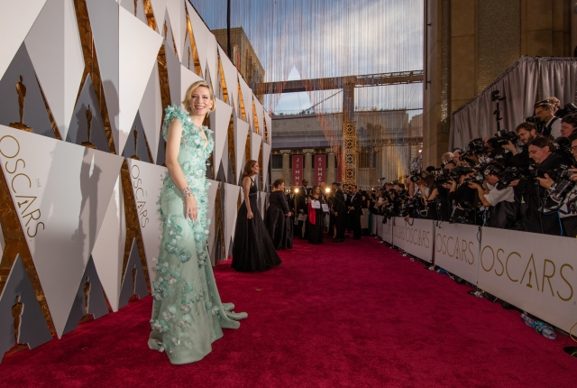 HOLLYWOOD, CA - FEBRUARY 28:  Actress Cate Blanchett attends the 88th Annual Academy Awards at Hollywood & Highland Center on February 28, 2016 in Hollywood, California. (Photo by Christopher Polk/Getty Images)