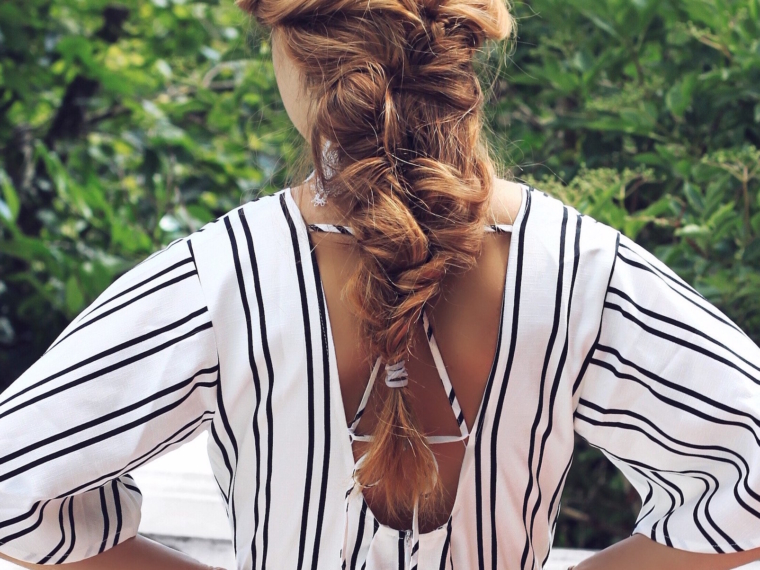 Juliana-Chow-hairstyle-braid-outfit-fashion